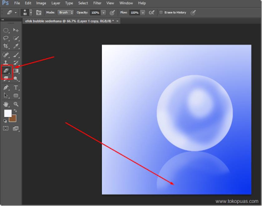 tutorial trik efek bubble photoshop