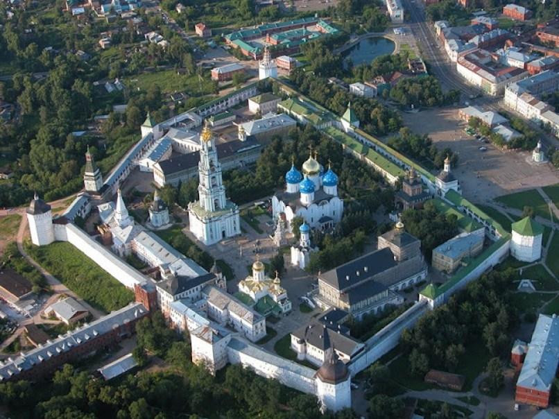 Троице Сергиев монастырь Сергиев Посад