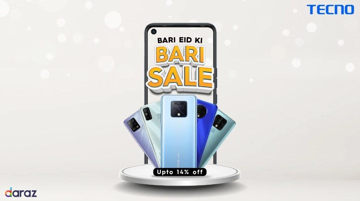 TECNO brings massive discounts for fans with Bari Eid ki Bari Sale Offer
