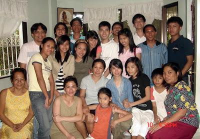 February 10: Aliza Berondo's Residence (Taytay, Rizal)