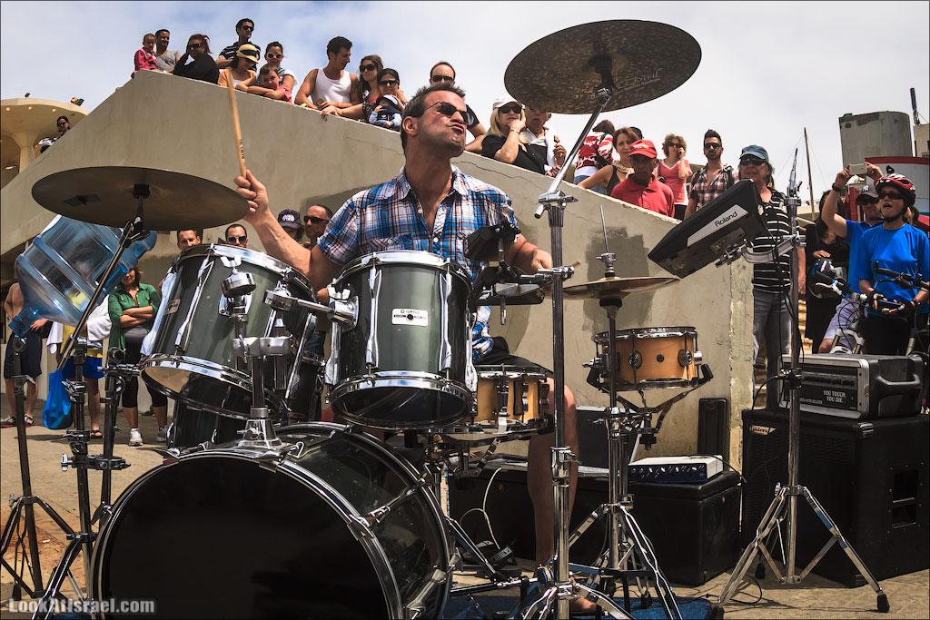 Энергия в каждом ударе! Одед Кафри и DruMachine в Тель Авиве | LookAtIsrael.com - Фотографии Израиля и не только...