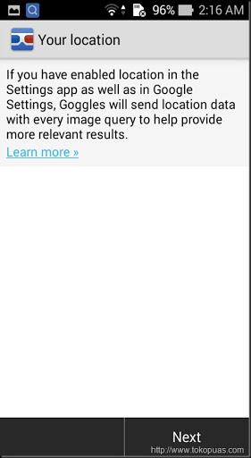 melakukan pencarian gambar dengan kamera android