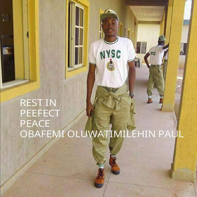 Serving Corper Dies Of Anaemia In Kebbi State (Photos)