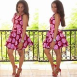 ankara short gown styles pictures 2017