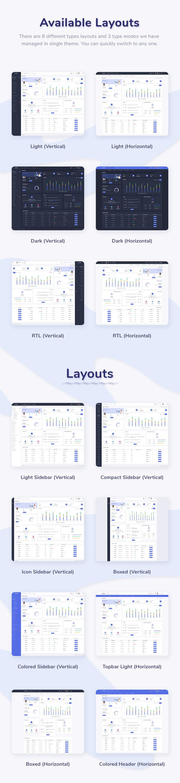 Skote - ASP.NET MVC5 Admin & Dashboard Template - 5