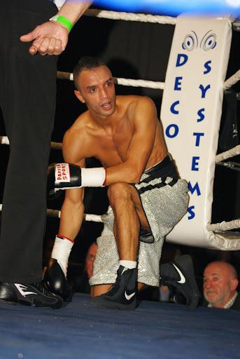Hadi Melloul, boksgala Zwevezele 11 november 2013