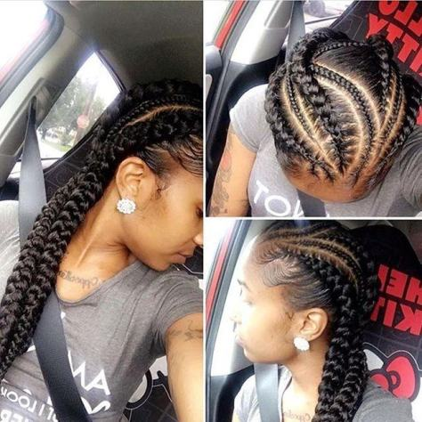 Ghana Weaving Braids Hairstyles 2018 ⋆ Fashiong4