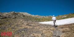 Muy cerca ya del Pico de Bernatuara.©aunpasodelacima