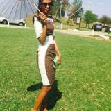 Shweshwe Outfit By South African Designer 2017