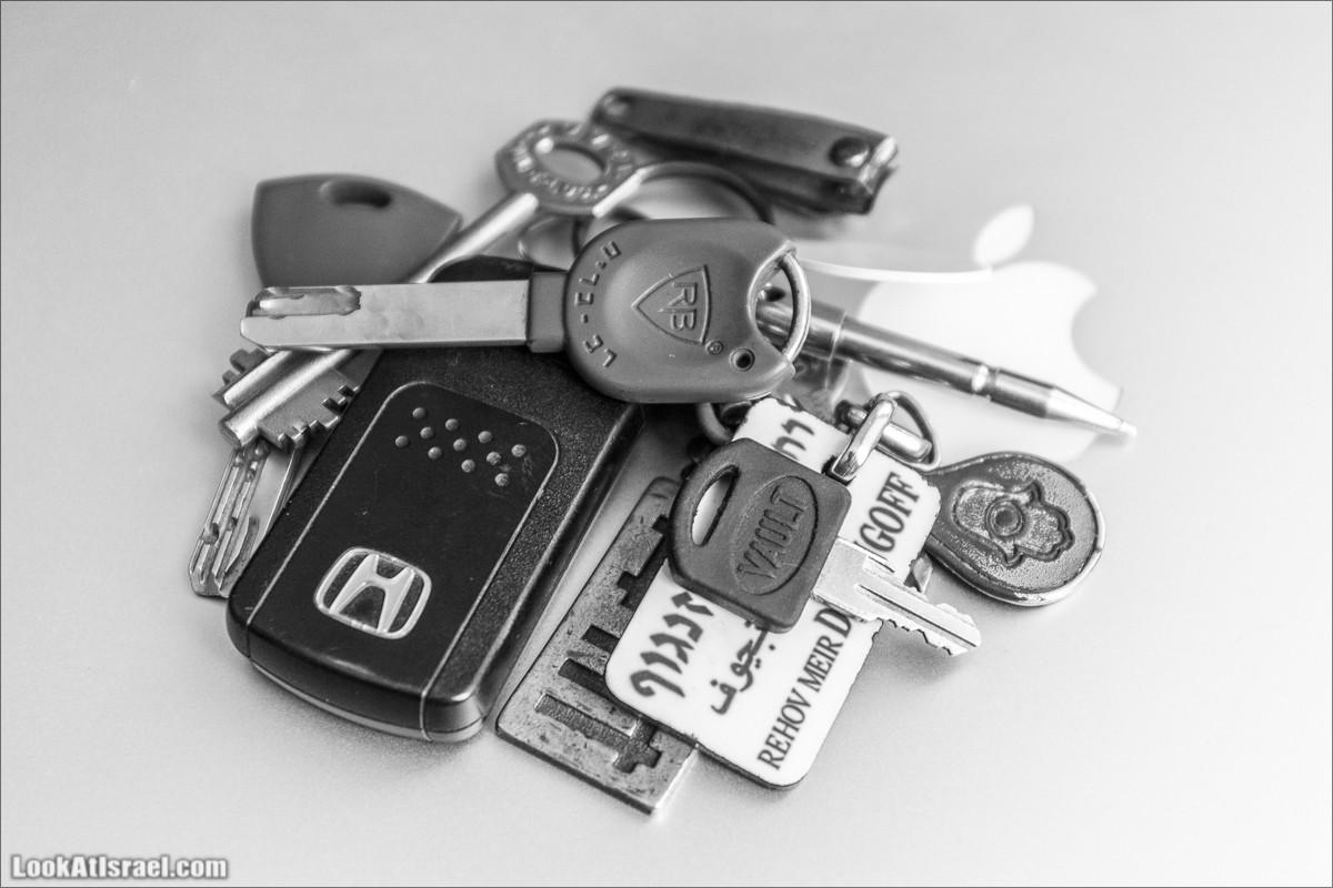 Органайзер для ключей Key|Smart | LookAtIsrael.com - Фото путешествия по Израилю