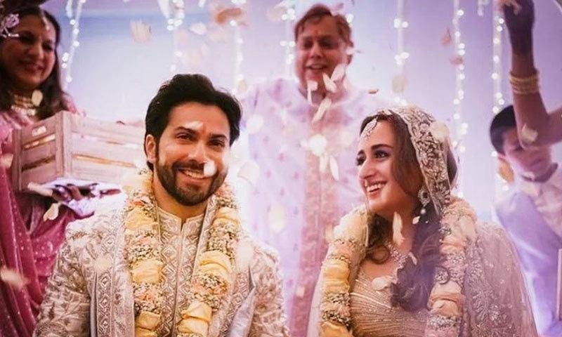 Exclusive Love Story details of Bollywood Actor Varun Dhawan and Natasha Dalal | Check HD Wedding Photos