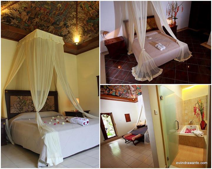 Kamar. Foto milik Sukun Bali Cottages