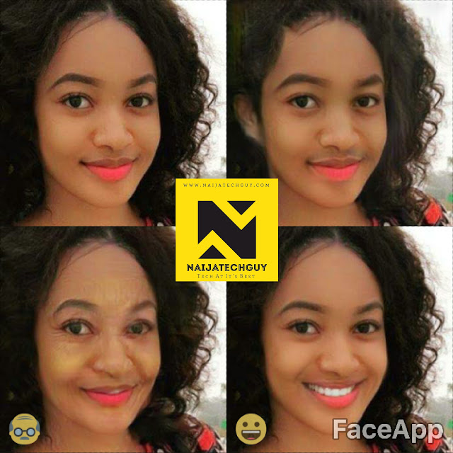 Check Out Ex President Obasanjo, Tekno, Genevieve Nnaji And Others After A FaceApp Transformation 8