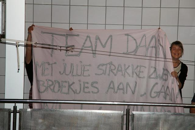 spandoek supporters