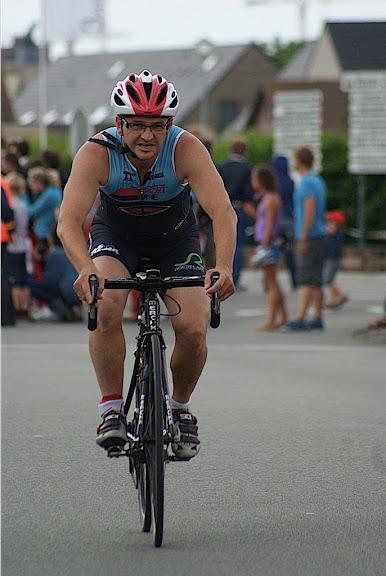 fietsen tijdens triathlon