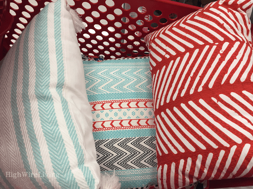 target cart pillows
