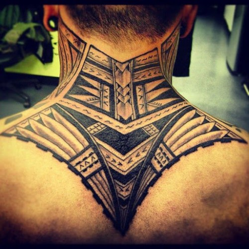50 most beautiful and attractive neck tattoos tattoos me. Black Bedroom Furniture Sets. Home Design Ideas