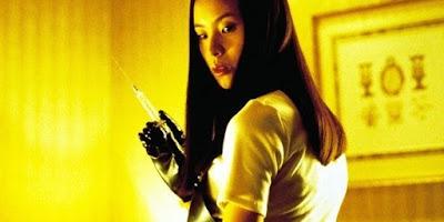 10 Vilãs mais cruéis e marcantes dos filmes de terror Asami Yamazaki de Ôdishon (Audition, 1999) - Eihi Shiina