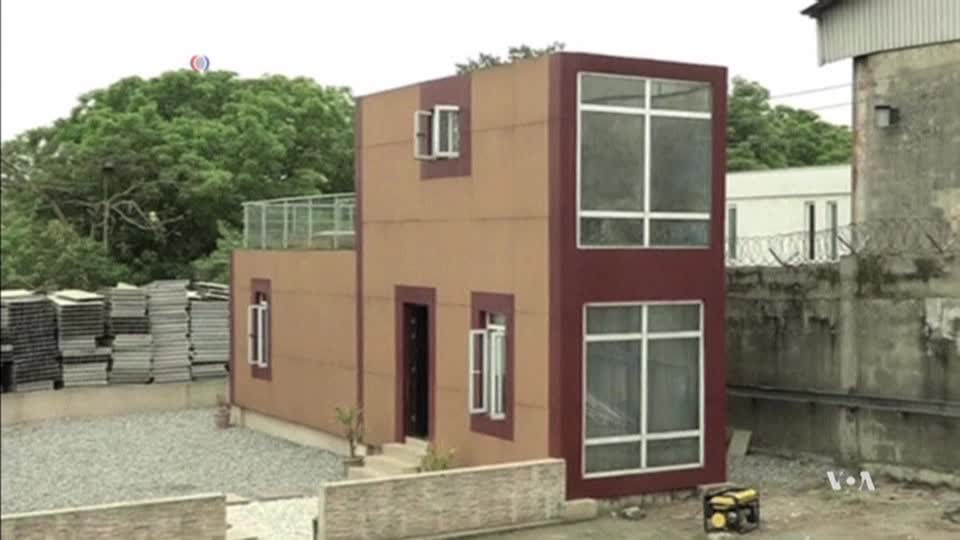 Innovative company uses shipping containers to build - Companies that build shipping container homes ...