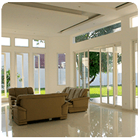 pintu jendela UPVC memahami cahaya
