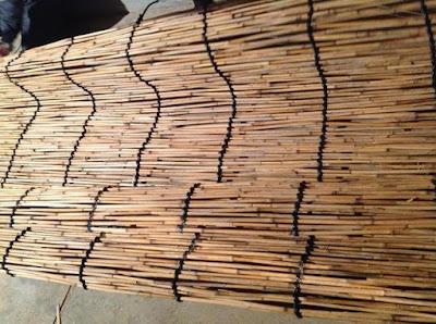伝統的な玉露や抹茶の覆いで使われる、よしずの作り方 - 14