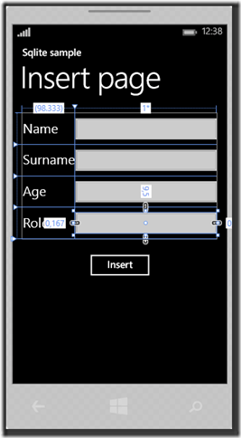 IMMAGINE 1.4 thumb1 - Parte due, Sqlite in Windows Phone 8.1