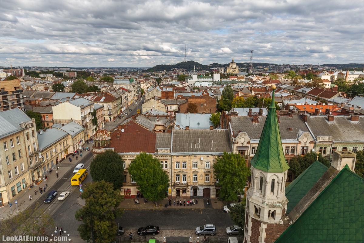 Прогулки по Львову. БлогLookAtIsrael.com путешествует по Украине