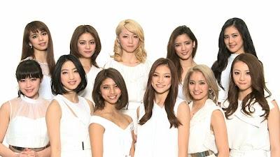 E-girls(紅組2番目)