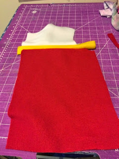 How to sew your fabric for your Ryder Paw Patrol vest.
