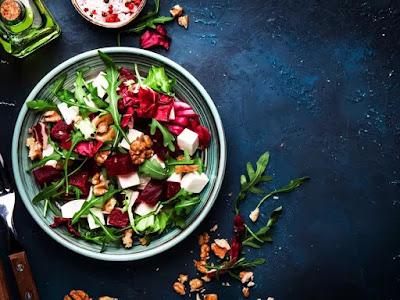 simple vegan plates