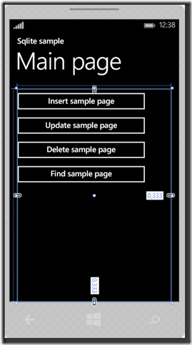 IMMAGINE 1.6 thumb11 - Parte due, Sqlite in Windows Phone 8.1