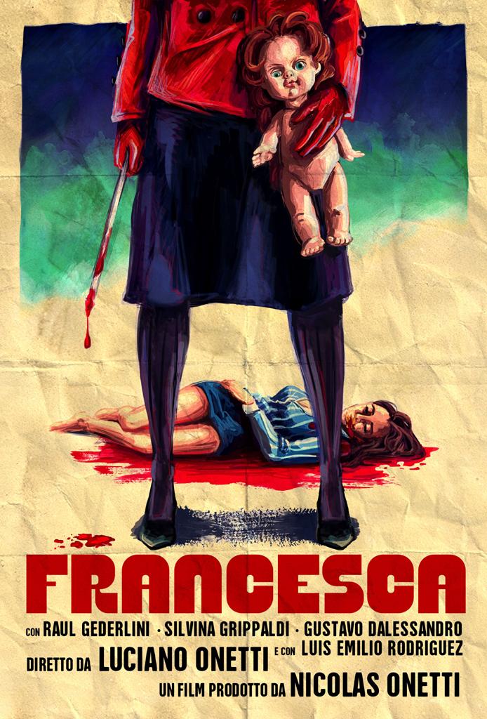 Veja poster, imagens e trailer do giallo retrô Francesca