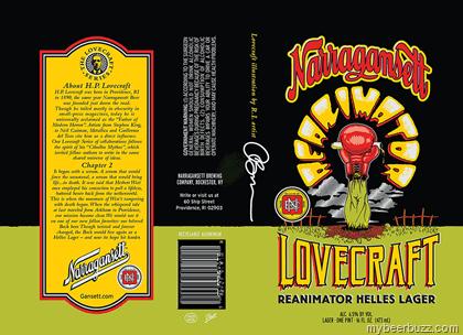 """Képtalálat a következőre: """"Lovecraft Reanimator Helles Lager"""""""