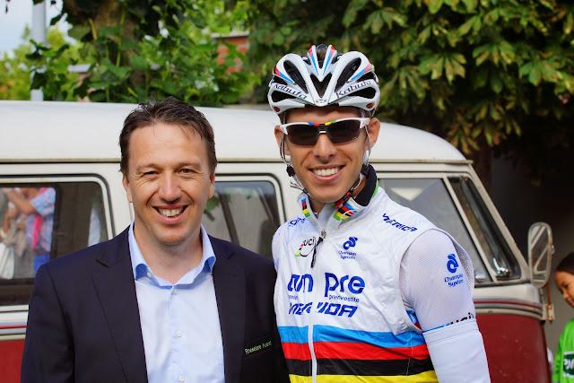 Bjorn Leenknegt en Rui Costa