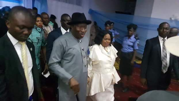 Photos Of Patience Jonathan & Justice Eberechi Suzzette Nyesom-Wike Dancing At Rivers Awards Ceremony