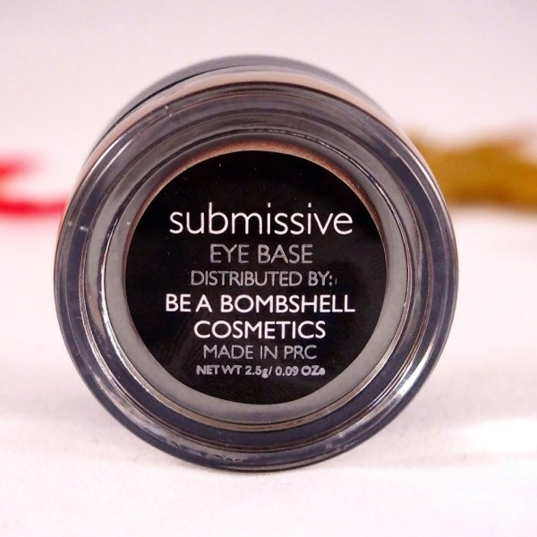 Be A Bombshell Cosmetics: Eye Base in Submissive