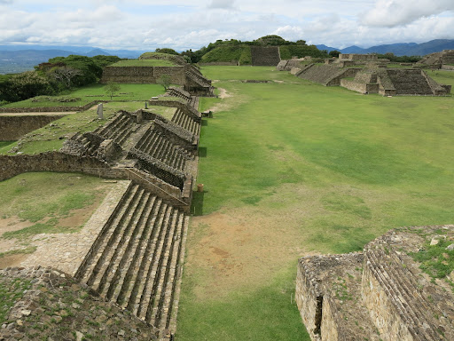 Central area of Monte Alban