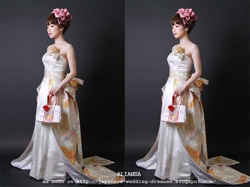 Japanese Wedding Dresses Beyond The Kimono: Aliansa's