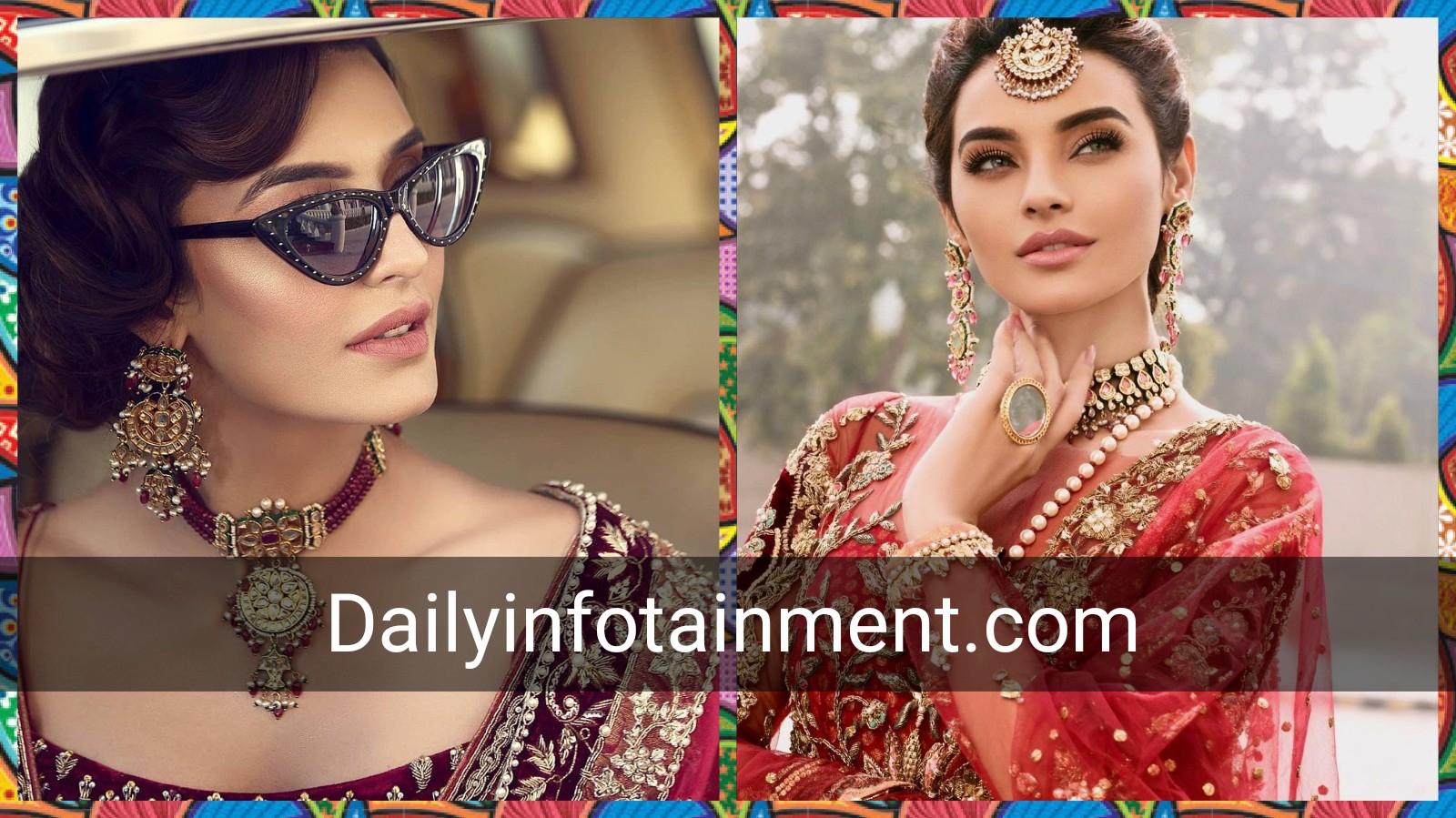 Sadia Khan Donning in Aesthetic Bridal Photo Shoot