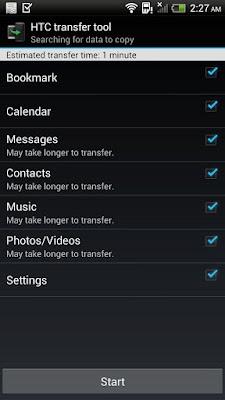 *簡單轉移手機資料到HTC新手機上:HTC 傳輸工具 (Android App) 3