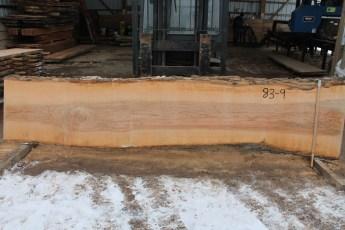 """083 - 9 Ash  2"""" x 27 - 22"""" Wide x 12' Long  Kiln dried"""