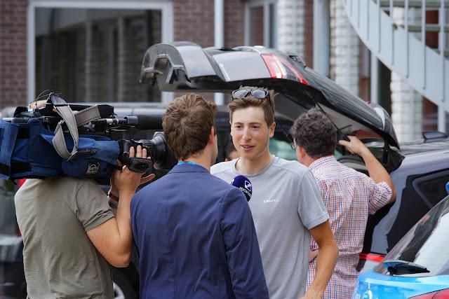Jens Keukeleire bij WTV