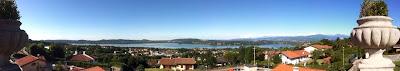 Vista panoramica da Villa Tatti