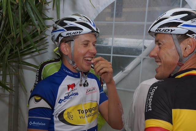Jens Wallays, having fun