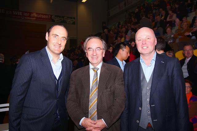 Yves Vanderhaeghe, Luc Martens en José Debels