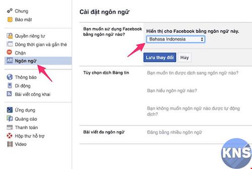 Thủ thuật đổi tên Facebook thành 1 chữ cực độc