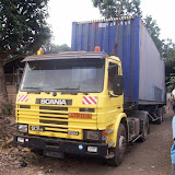 Container Arrival & Offloading in Buea - 100_9050.JPG