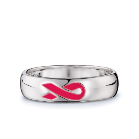 Breast Cancer Crusade Sterling Silver Like A Girl Ring