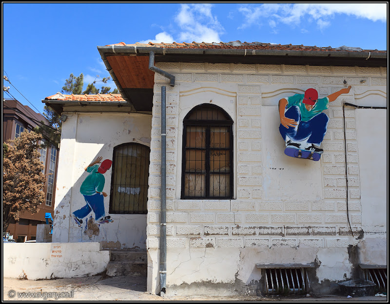 Почти граффити Тель Авива