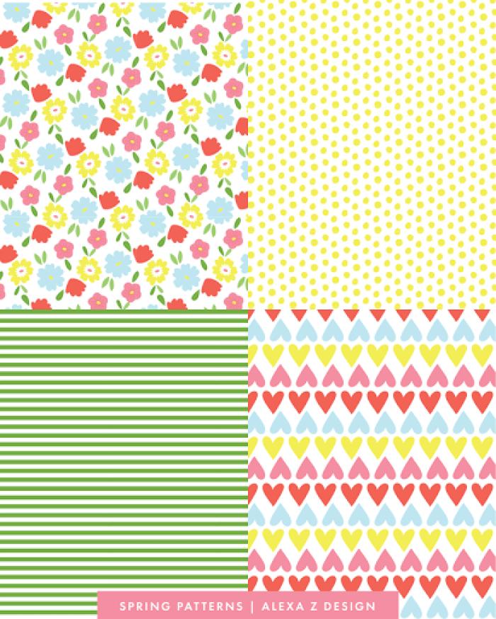 Spring Patterns 2